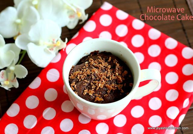 Microwave-chocolate-cake