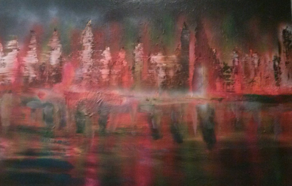 oil painting120x 80