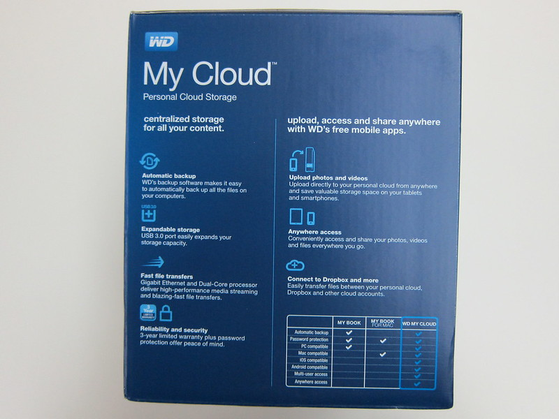 WD My Cloud - Side