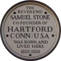 Photo of Samuel Stone stone plaque