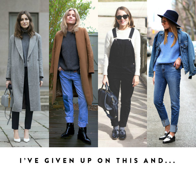 3 pared down minimal style