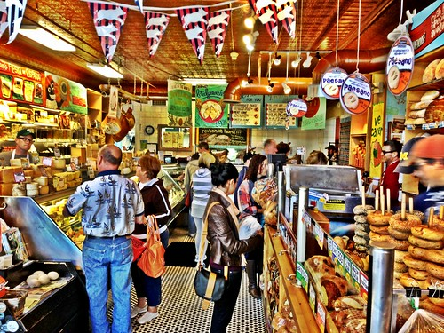 """Browsing at Zingerman's"