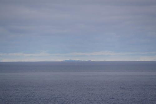 320 Deception Island - uitzicht op schiereiland 100 km
