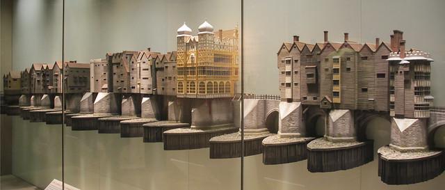 Old London Bridge, around 1600