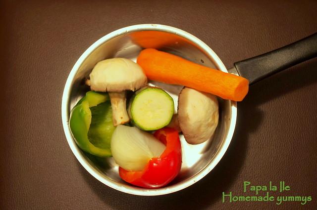 Orez cu legume si carne de curcan (3)