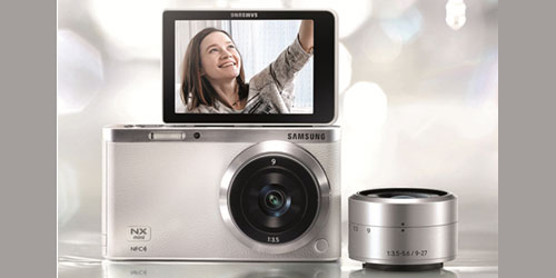 Samsung reveals NX Mini SMART camera