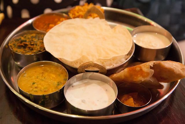 Royal Mumbai thali, Adyar Ananda Bhavan