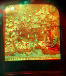 3D diablerie through original viewer - National Media Museum - use red-cyan glasses