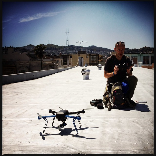 Eddie and the drone