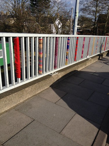 yarnbomb mill rd bridge