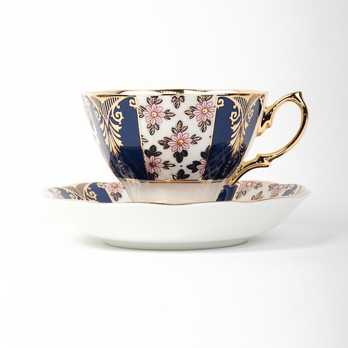 Tasse Royal Albert Regency Blue