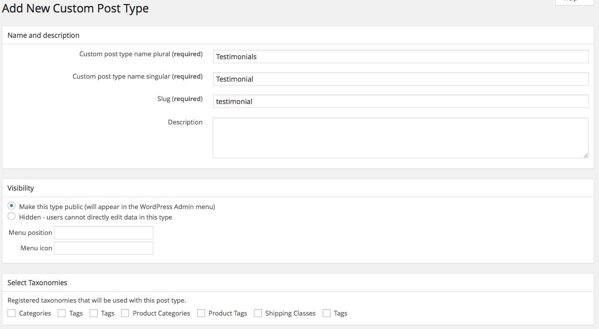 Custom Post Types UI vs Types for WordPress Custom Post Types