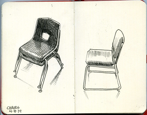 chairs at work