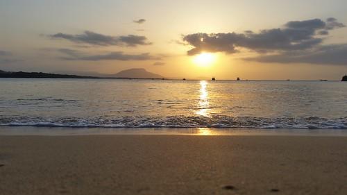 sunset dominican republic sosua