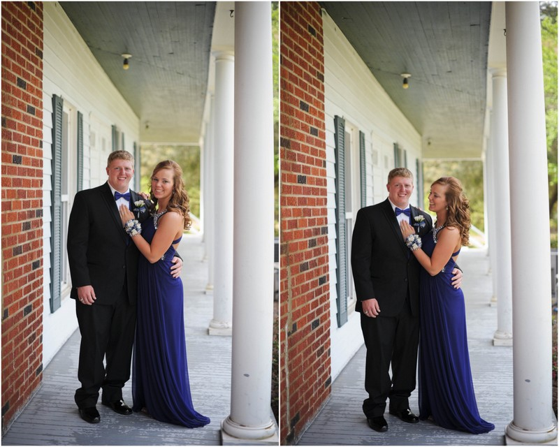 Daniel and Amy's prom portraits4