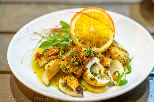 Grilled Calamari with Gremolata