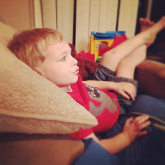 Why Grayson. You comfy?