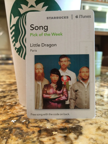 Starbucks iTunes Pick of the Week - Little Dragon - Paris