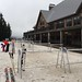 Not much snow, so nobody is skiing at Cypress