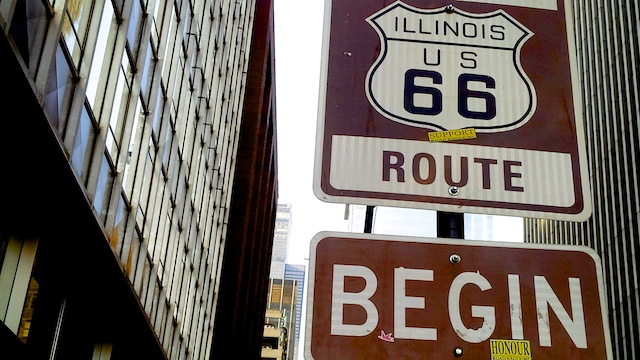 Start of Route 66