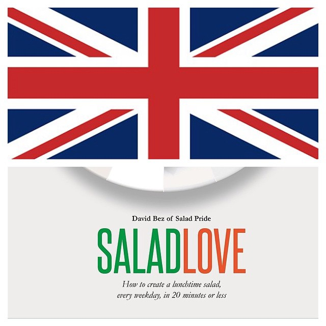 The Brits are the first who fell love with the sexy salads! Buy the book here: http://www.amazon.co.uk/Salad-Love-Lunchtime-Weekday-Minutes/dp/1849494967  #raw #salad  #vegetarian #vegan   #happydesksalad #desklunch #desk #rawfood #rawvegan #veg #veganfoo