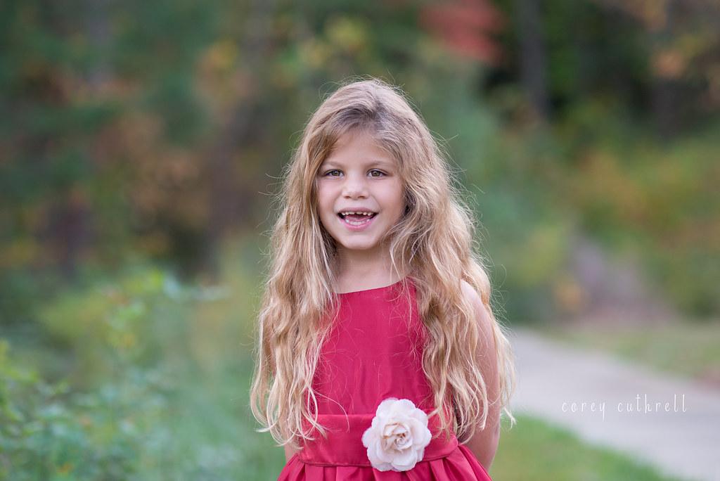 Emma red dress smile web