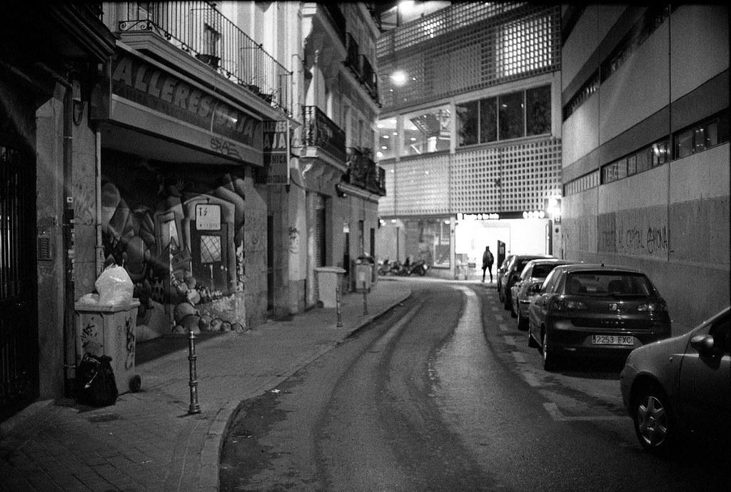 Back Alleys of Madrid