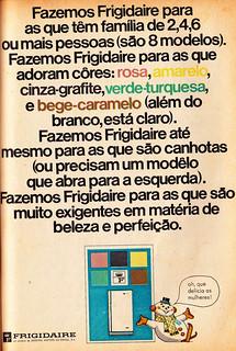 1967 - Frigidaire refrigerators