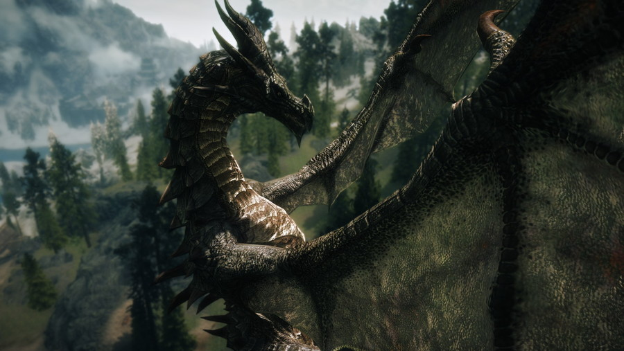 Elemental Dragons Special Edition at Skyrim Special Edition