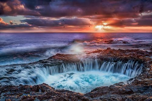 sea grancanaria sunrise landscape mar rocks paisaje amanecer rocas canaryisland lagarita