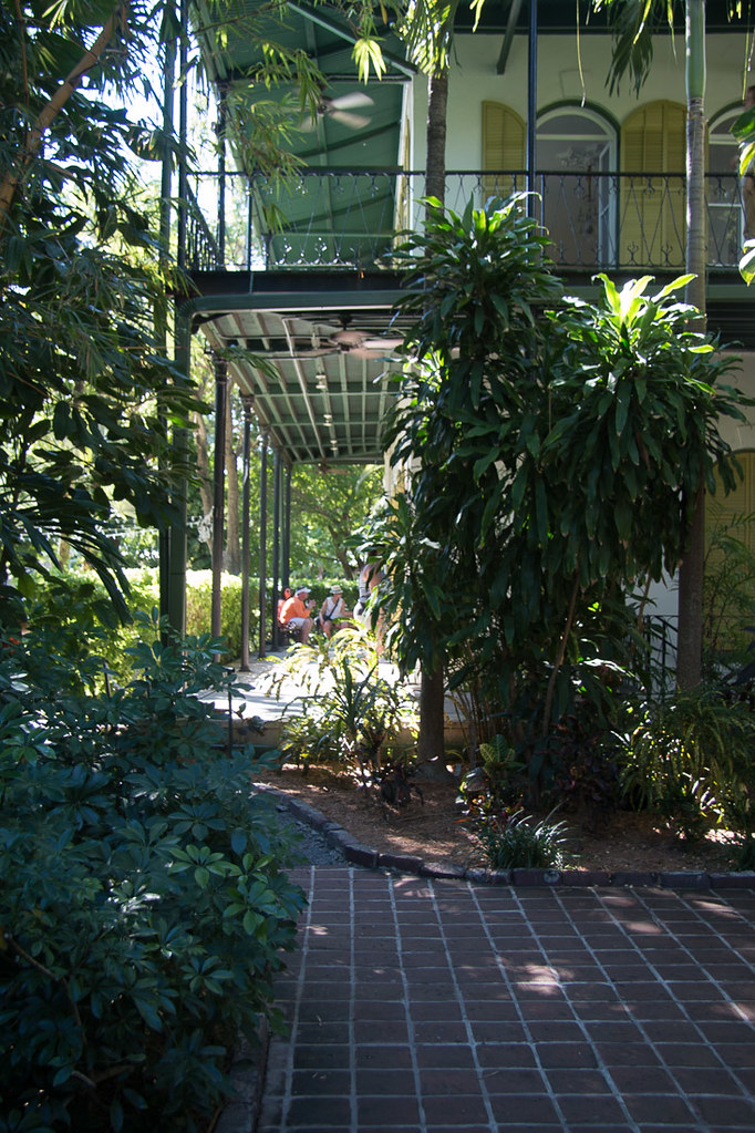 Grounds of Hemingway house