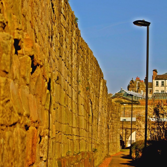 Town Wall, Orchard Street