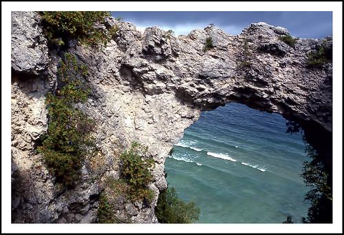 geotagged michigan mackinacisland lakehuron archrock