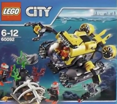 LEGO City Deep Sea 60092