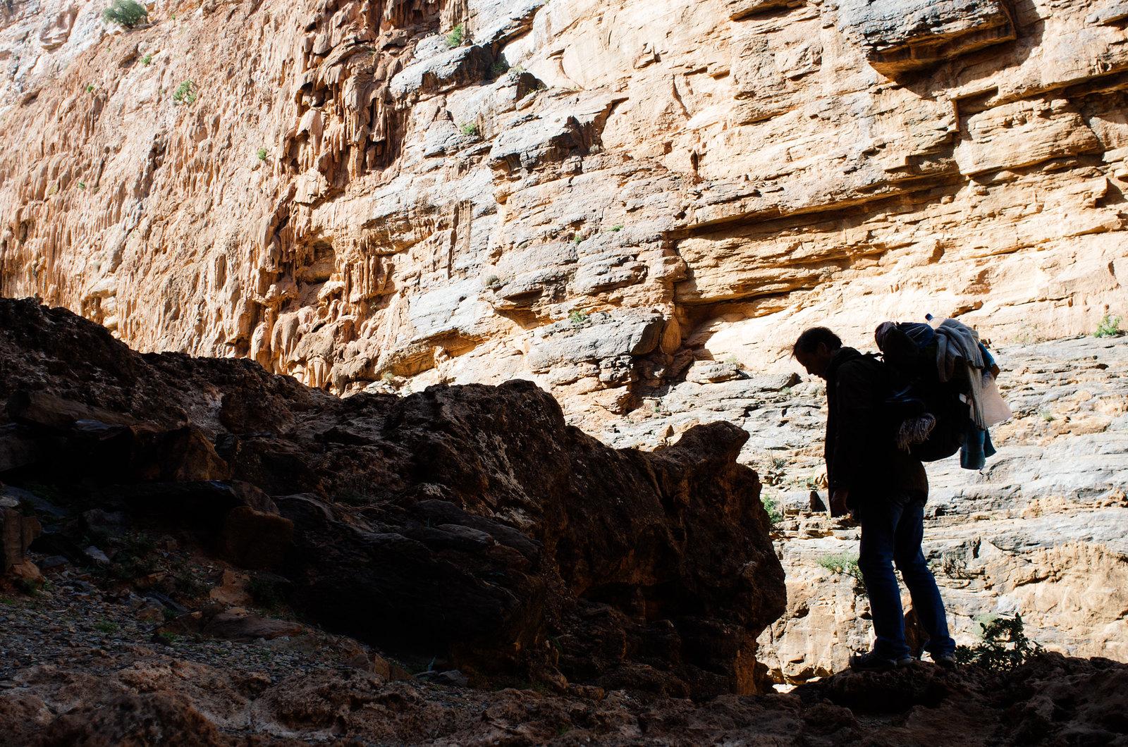 Amtoudi, anti-Atlas - 5 jours de trek au Maroc - Ombre chinoise