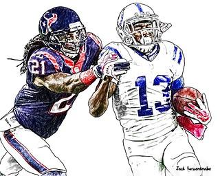 Indianapolis Colts T.Y. Hilton - Houston Texans Kendrick Lewis