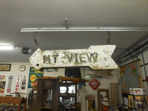 sign vintage neon mountainview antiqueshop mtview oldneon