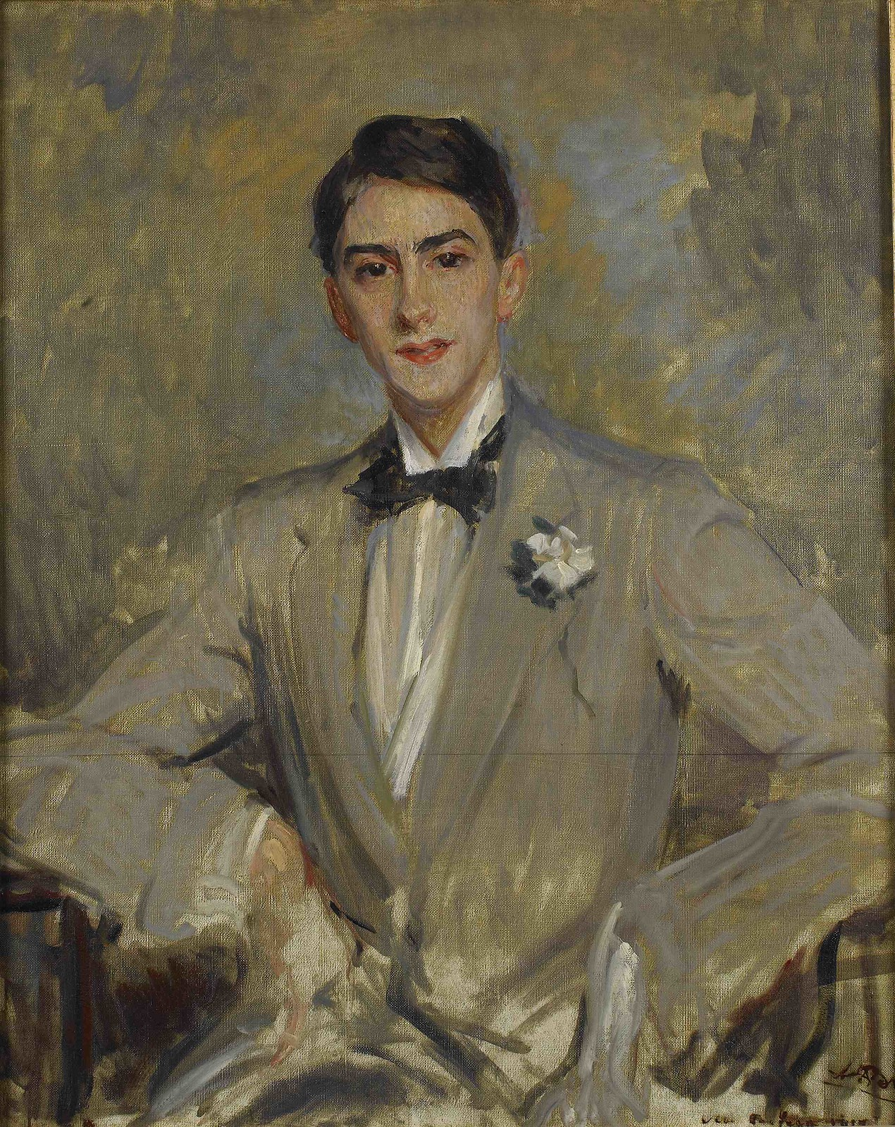 Portrait of Jean Cocteau by Jacques-Émile Blanche
