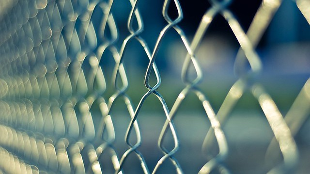 Chainlink Prison Fence