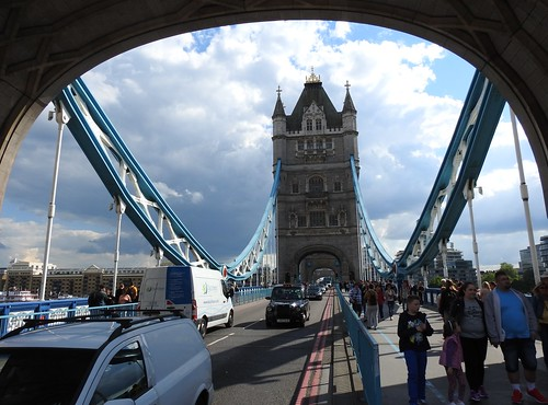 Tower Bridge in London, England - May 2016