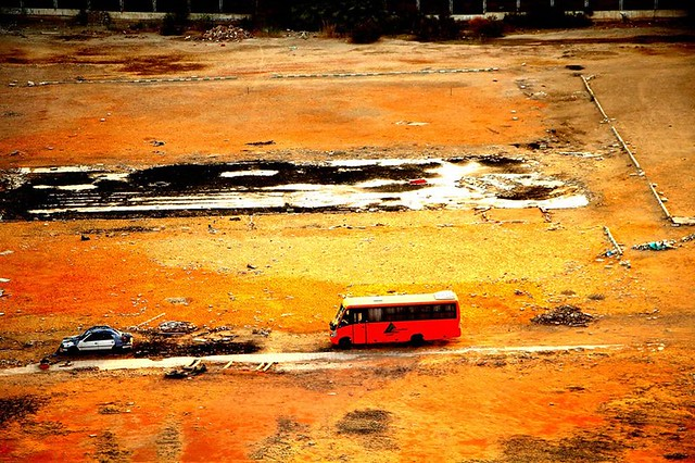 Lonely Bus