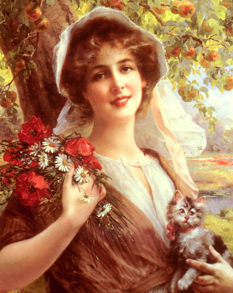Country Summer by Emile Vernon - Date unknown
