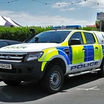 Sussex Police..Ford Ranger Double Cab... GY64 GVR