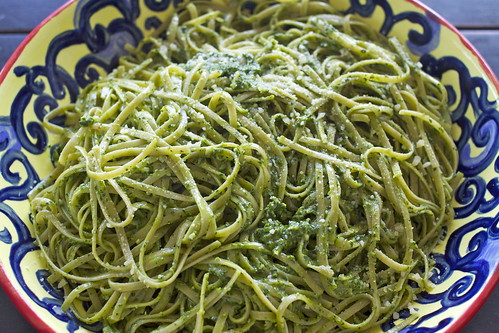 Fettuccine with Kale Pesto from True Foods Kitchen