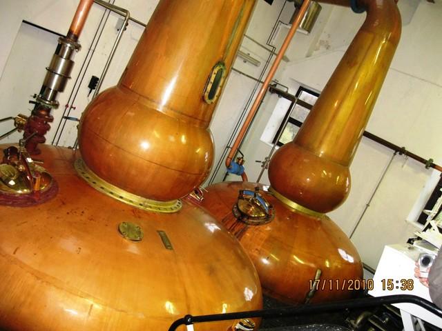 Knockdhu Distillery 1 each tall boil ball still