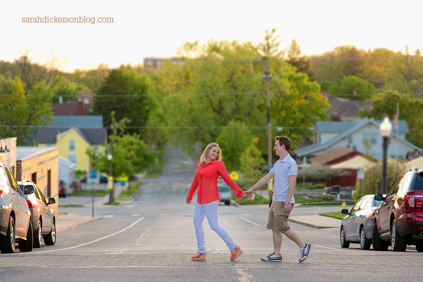 Liberty Missouri engagement photos session