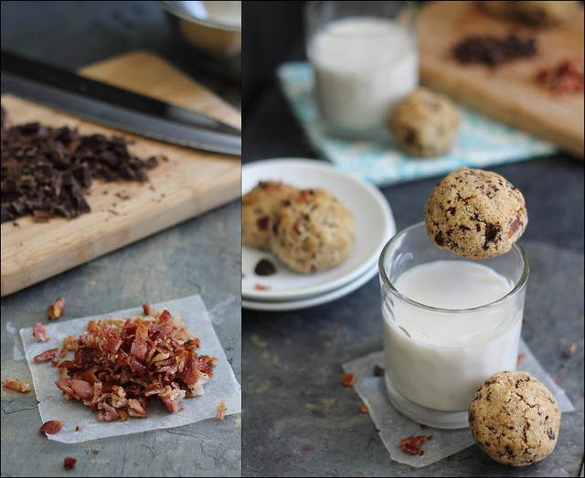Paloe bacon chocolate chip cookies