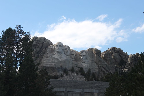 Landscape of Mt Rushmore