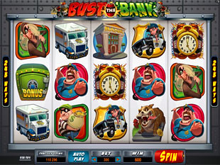 Bust the Bank Slot Machine