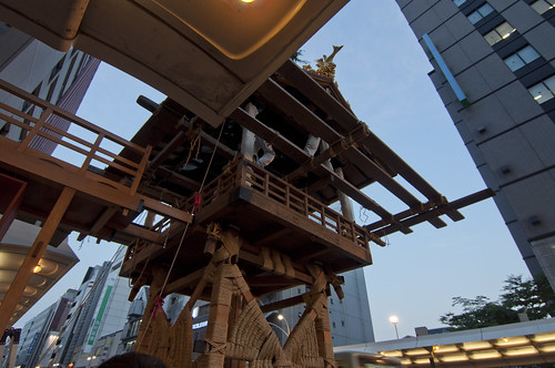 2013/07/11 京都・祇園祭 鉾建て
